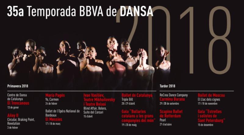 cartelera  35ª Temporada de Danza del Centro Cultural Terrassa