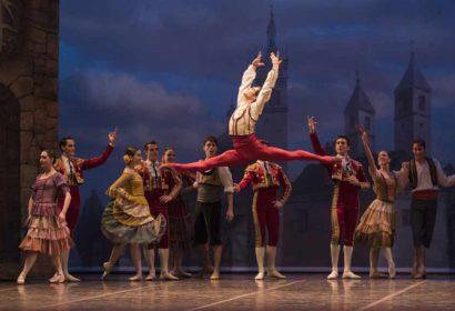 bailarines de ballet  La Compañía Nacional de Danza lleva su Don Quijote al Maestranza de Sevilla y al Auditorio Mar de Vigo