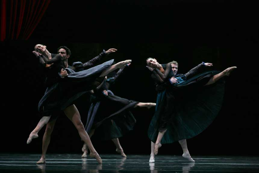 bailarines de ballet  La Compañía Nacional de Danza regresa al Teatro de la Zarzuela