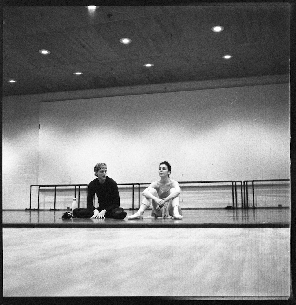 bailarines de ballet  Natalia Osipova and David Hallberg