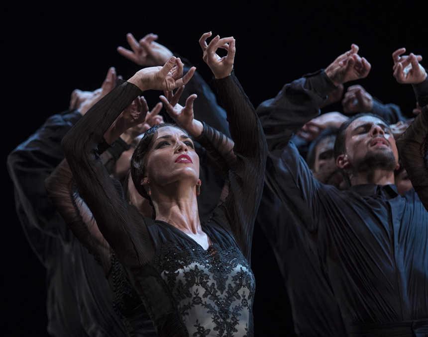 bailarines de ballet  El Ballet Nacional de España llega a la localidad francesa de Blagnac