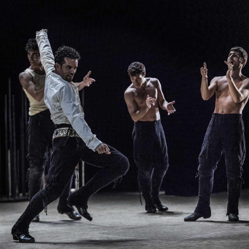 bailarines de ballet  El Ballet Nacional de España comienza la temporada en el Teatro Circo Murcia con una versión de Electra de ecos lorquianos