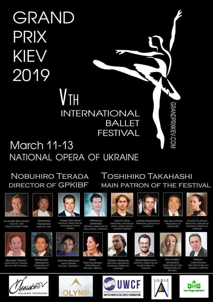 concursos bailarines de ballet  Vaganova PRIX International competition 2018