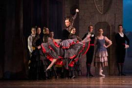 bailarines de ballet  Don Quijote, el ballet más célebre del repertorio, llega al Liceu con la CND