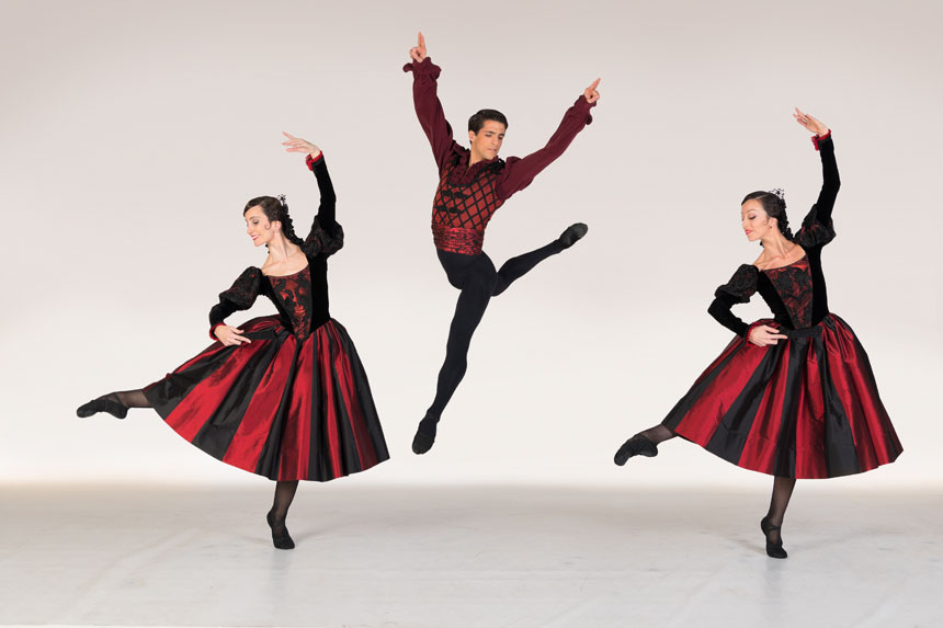 bailarines de ballet  EL CASCANUECES. José Carlos Martínez   Ballet en dos actos