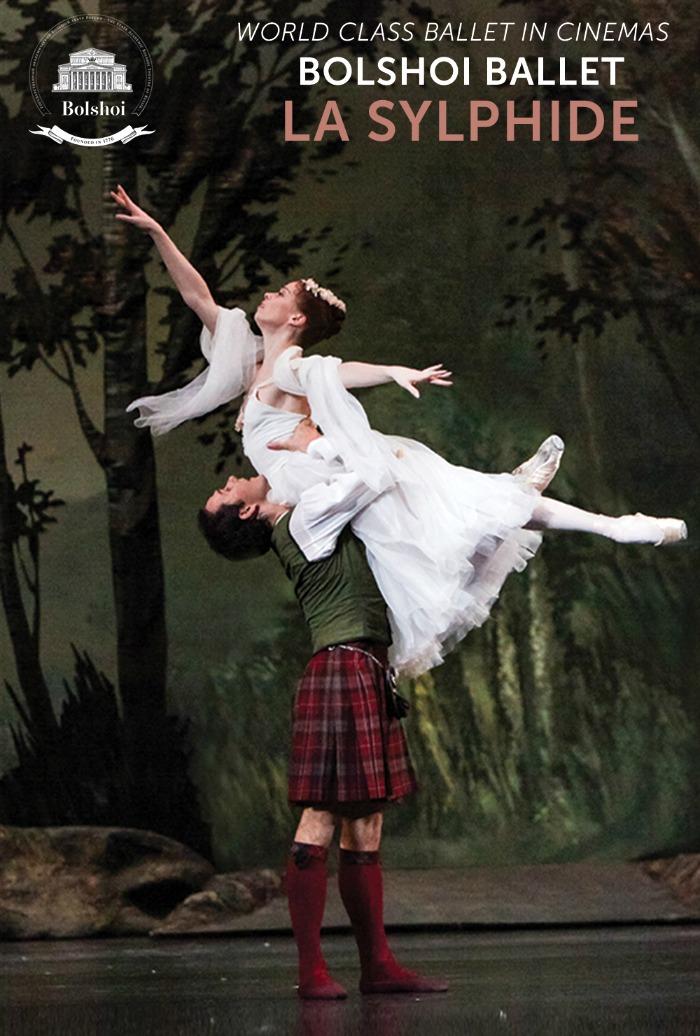 videos argumentos de ballet  Ballet LA SILPHIDE en los cines de España