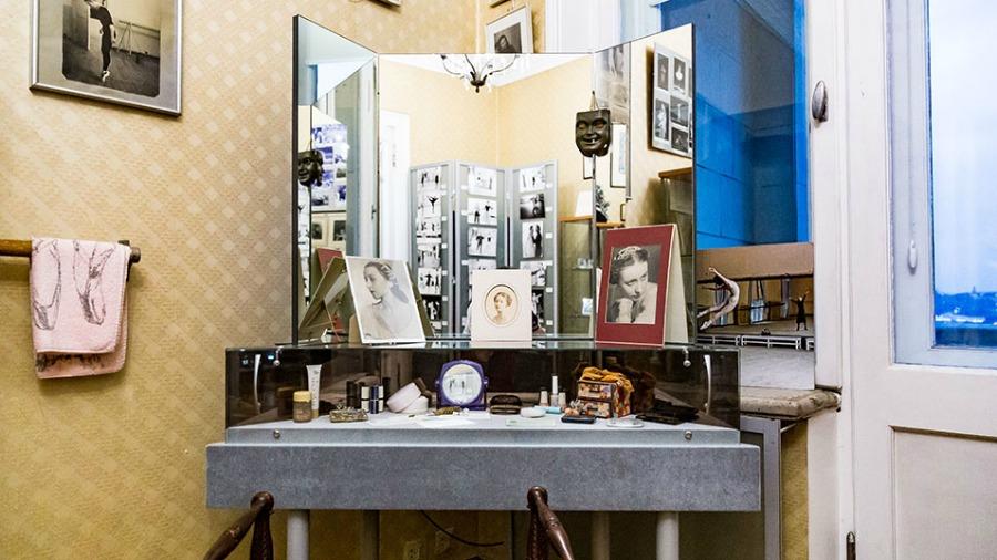 personalidades bailarines de ballet  Apartamento Museo de Galina Ulanova en Moscú