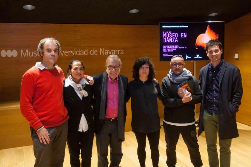 bailarines de ballet  Presentación de la primera edición del Ciclo Museo en Danza