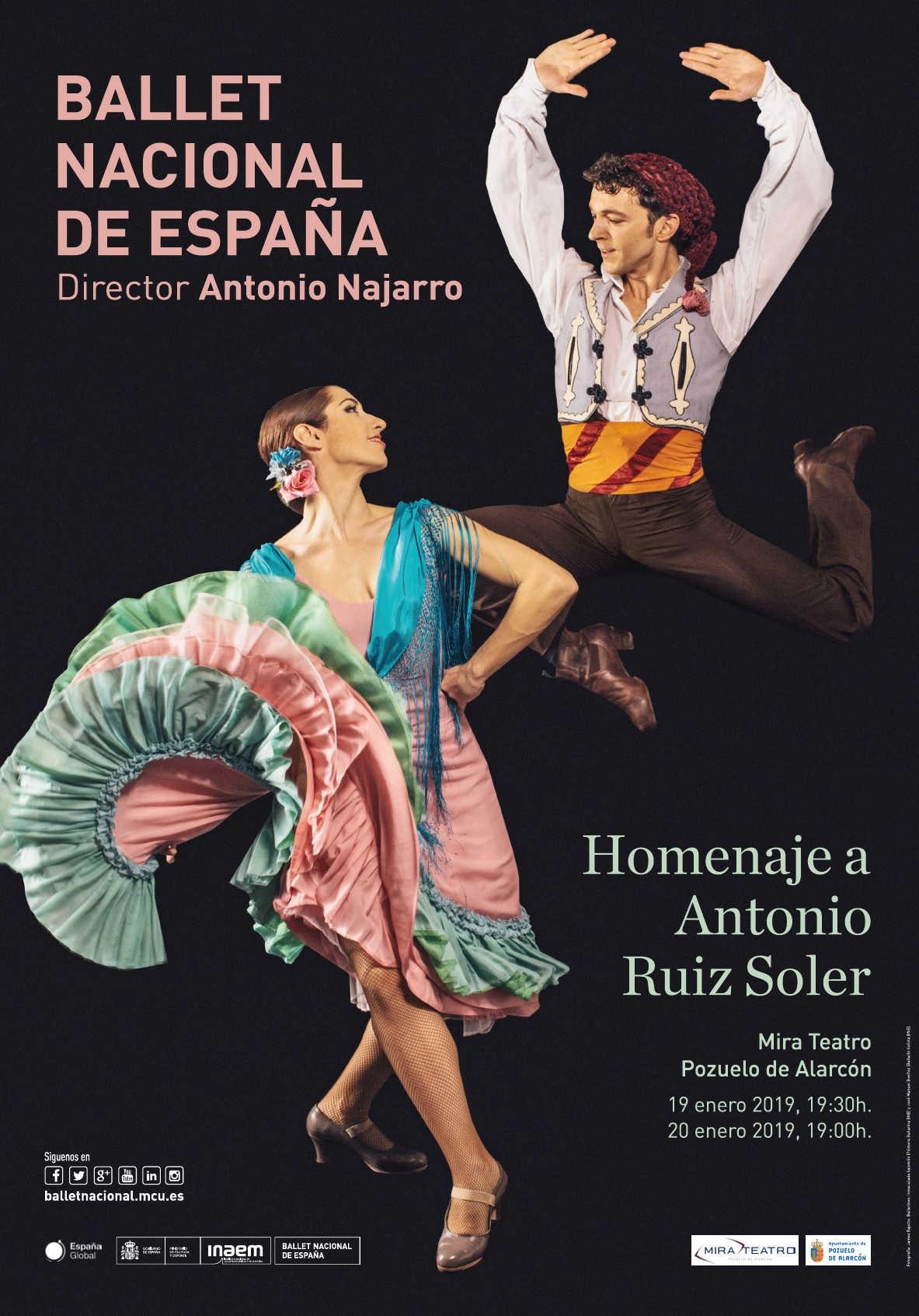the ballet russes  Ballet El tricornio (El sombrero de tres picos)