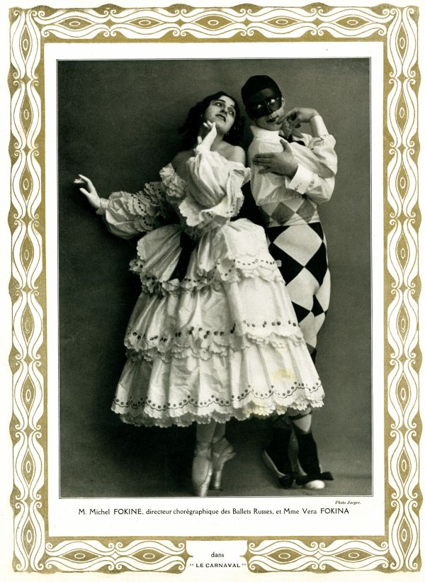 the ballet russes  Los Ballets Rusos de Diaghilev, Caixa Forum Madrid