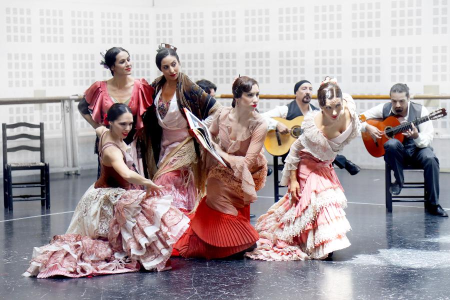 cartelera bailarines de ballet  Zaguán y Alento, el Ballet Nacional de España en el Teatre Liceu