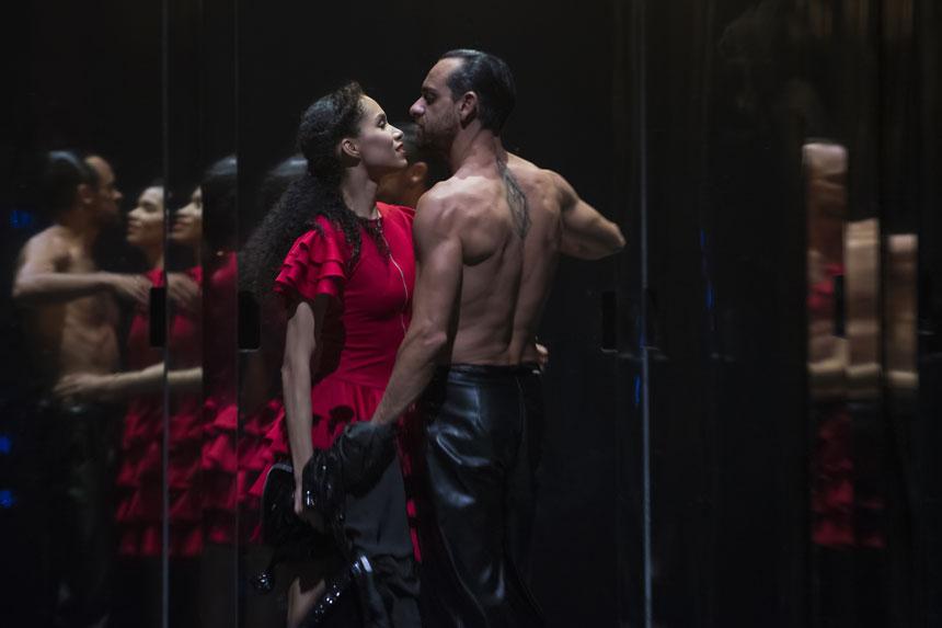 cartelera bailarines de ballet  Les Étés de la Danse presentan Carmen de la CNDanza de España
