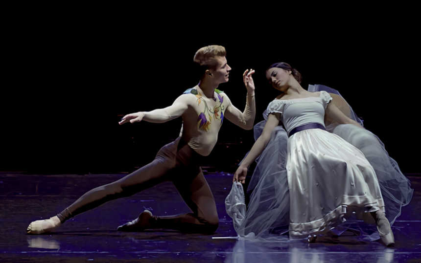 the ballet russes  Picasso y Olga Koklova
