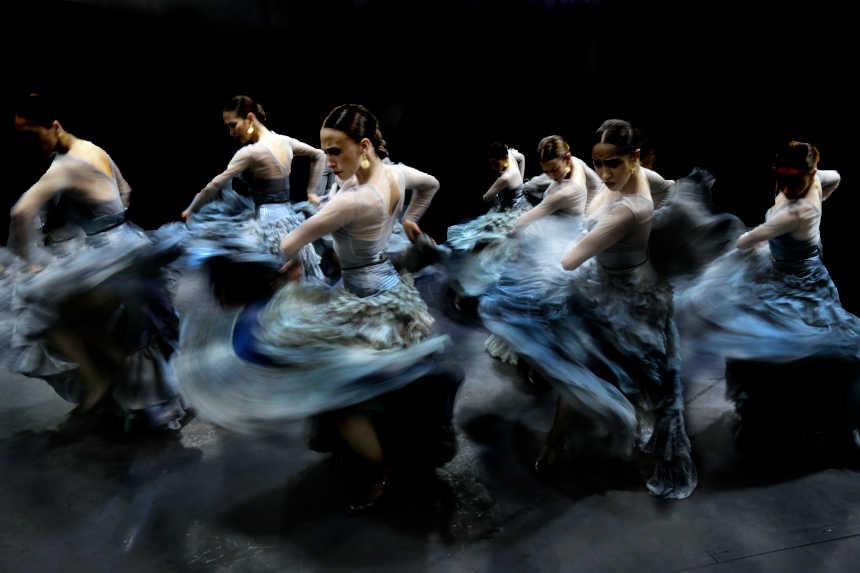 bailarines de ballet  El Ballet Nacional de España ofrecerá el estreno mundial de Eterna Iberia en Murcia
