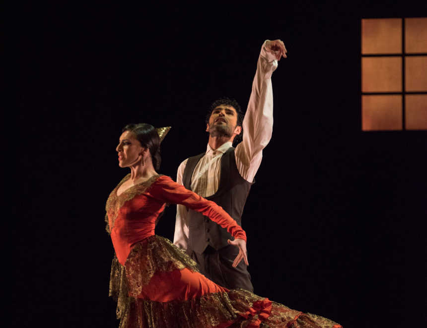 bailarines de ballet  El Ballet Nacional de España cumple uno de sus grandes deseos: volver a visitar Argentina y Chile
