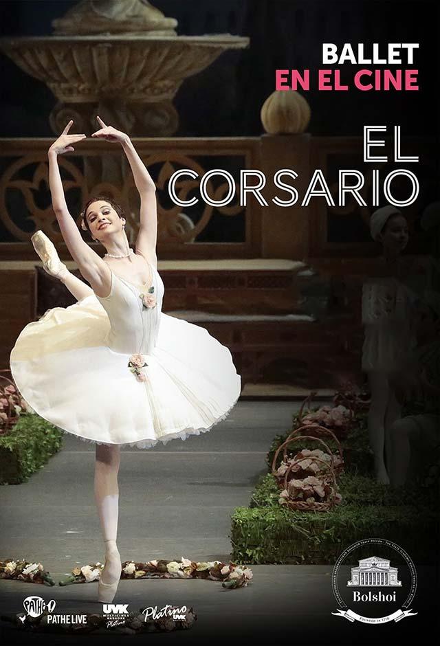 videos bailarines de ballet  Ballet El Corsario por el Bolshoi Ballet en los cines