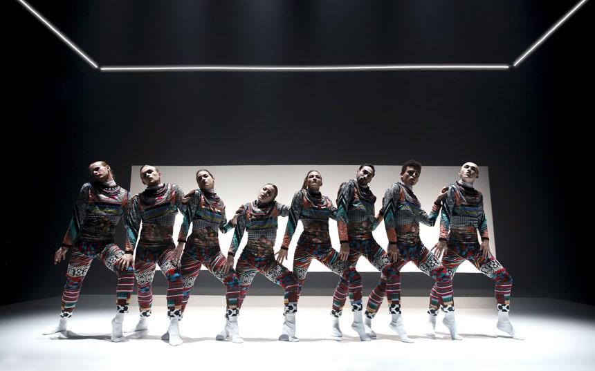 bailarines de ballet  Presentación de National Dance Company Wales en el Museo Universidad de Navarra