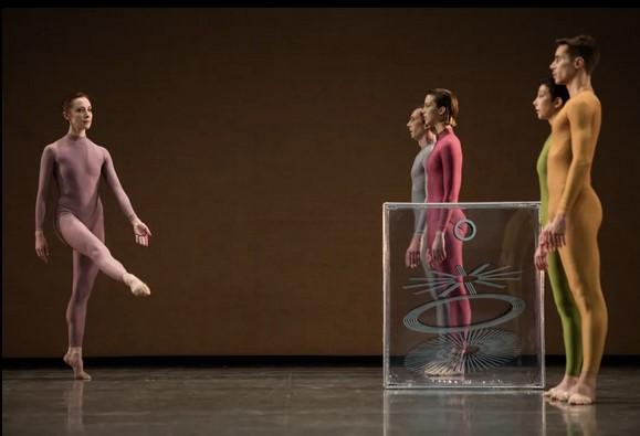contemporanea bailarines de ballet  El Ballet de la Ópera de París homenajea a Merce Cunningham en el Teatro Nacional de Chaillot