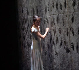 bailarines de ballet  GISELLE de Akram Khan por el English National Ballet en el Teatre Liceu de Barcelona