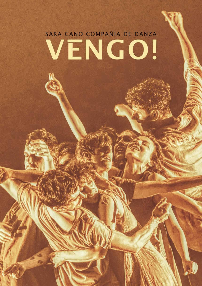 cartelera  Sara Cano presenta Vengo!: flamenco, danza contemporánea y folklore en los Teatros del Canal