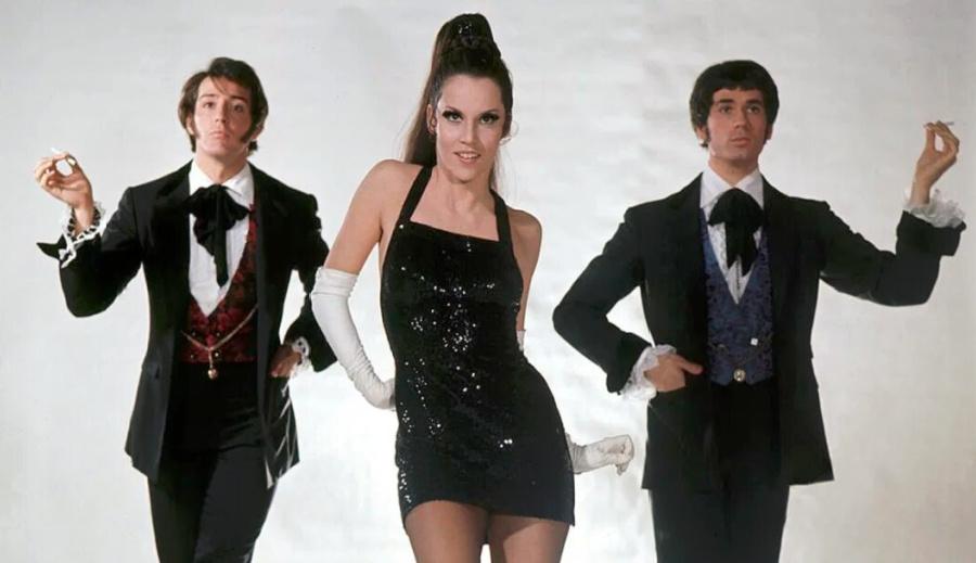 editora bailarines de ballet  The Rich Man's Frug la mayor creación coreográfica de Bob Fosse para Sweet Charity (1969)