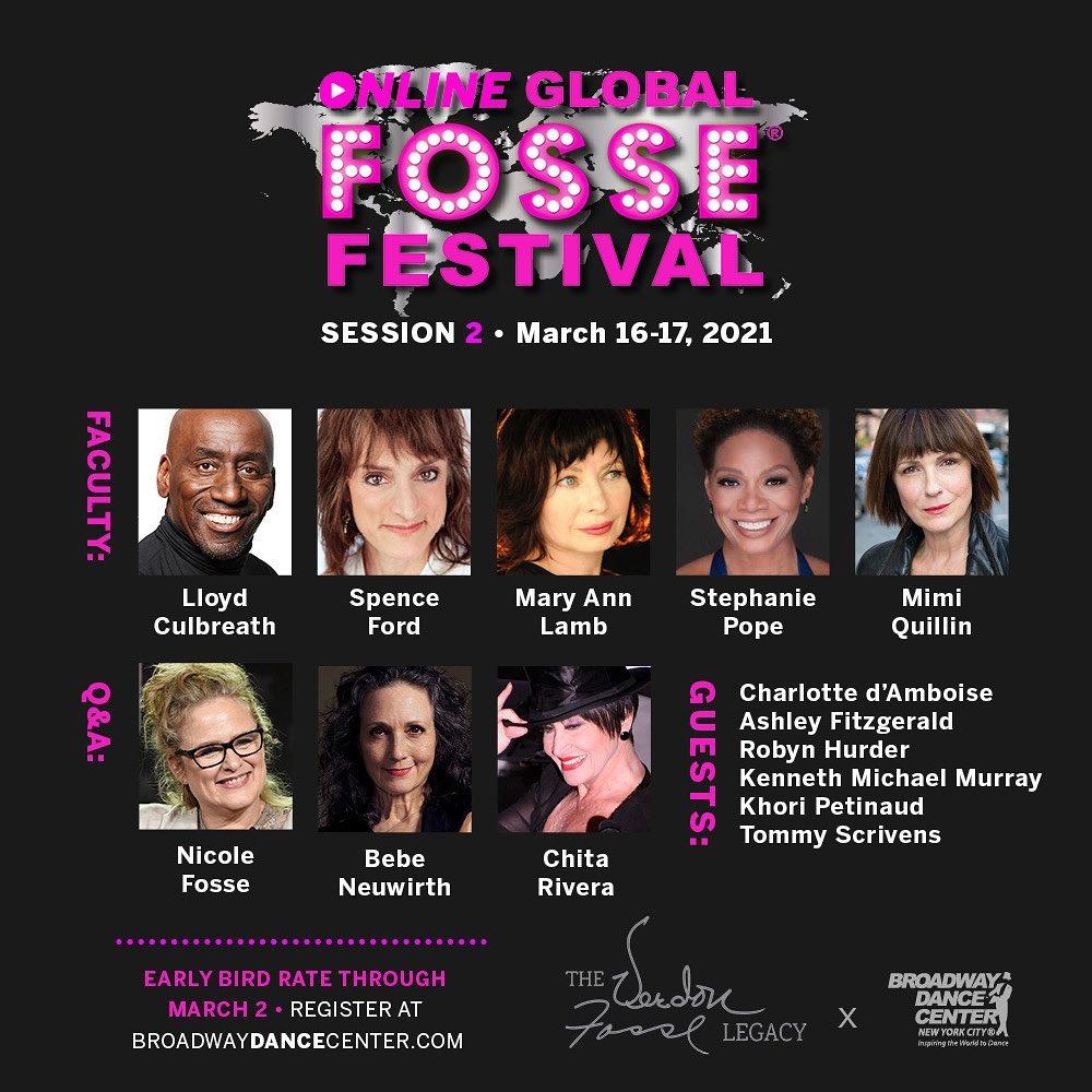 The Global Fosse® Festival online 2021, dedicado al bailarín, coreógrafo y director Bob Fosse